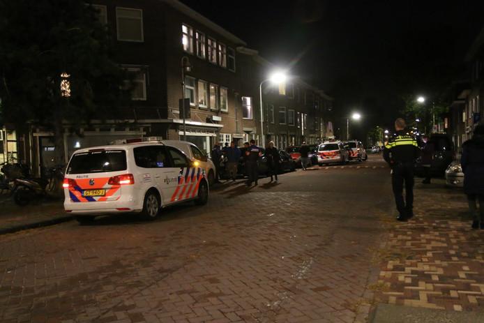 Grote politie-inzet in de Tesselsestraat na verontrustende melding