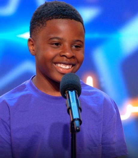 Golden ticket in Hollands Got Talent voor Nigel (12): in één seconde van gulle lach naar pokerface