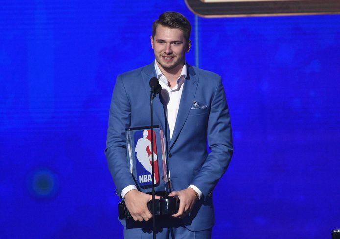 Ook Luka Doncic viel in de prijzen.