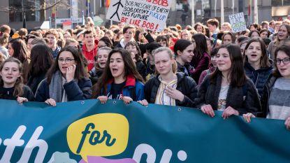 Slechts 500 klimaatbetogers trekken door Brussel