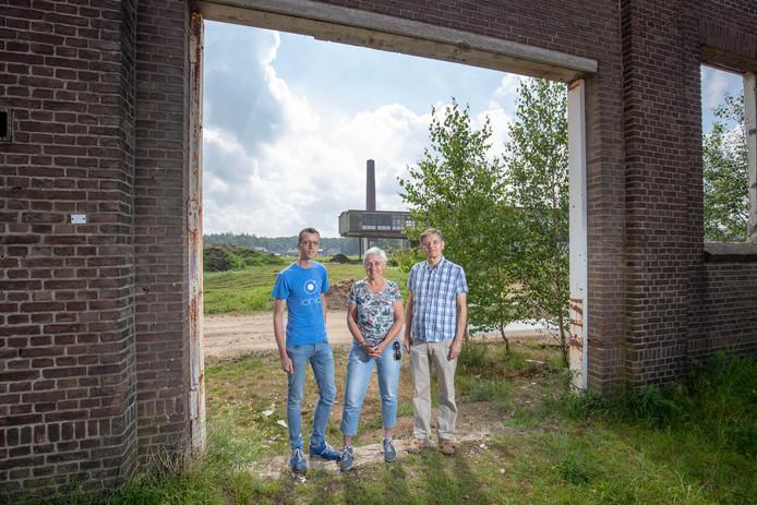 v.l.n.r Dennis Janse, Helene Bende en Ferdinand van Nispen