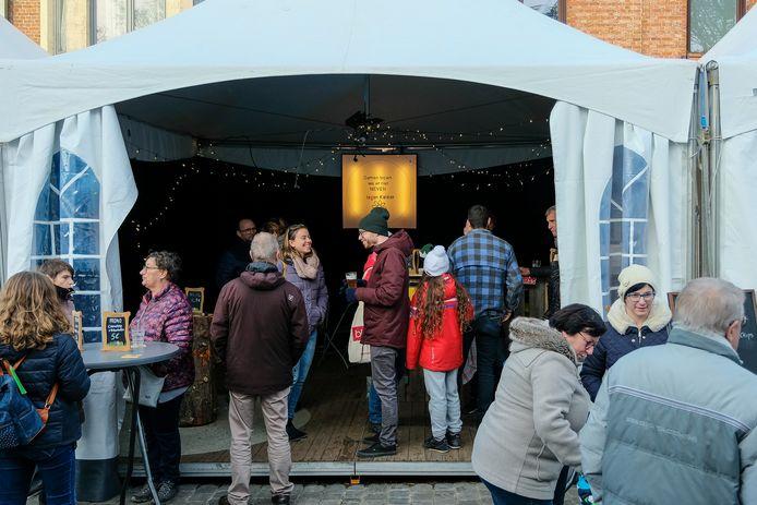 Archiefbeeld kerstmarkt in Zaventem.