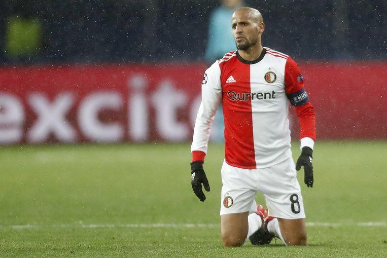 Karim El Ahmadi baalt na een nieuwe nederlaag.