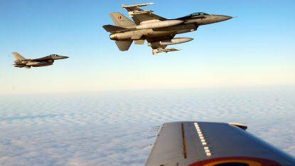 Belgische F-16's onderschepten sinds begin september 18 Russische vliegtuigen boven Litouwen