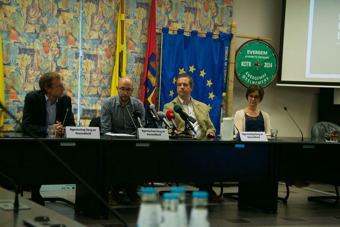 Persconferentie legionella-uitbraak in Evergem: bron gevonden