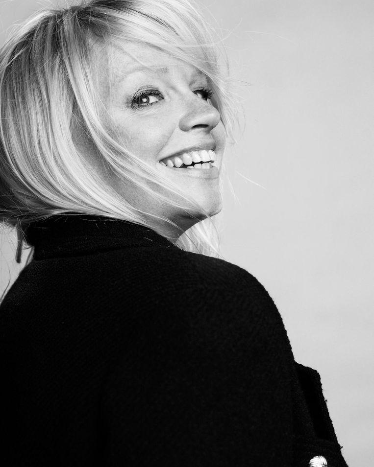 Karin Swerink: 'Allemaal dezelfde blanke, dunne modellen, dat is niet meer van deze tijd' Beeld Paul Bellaart, styling Jetteke van Lexmond