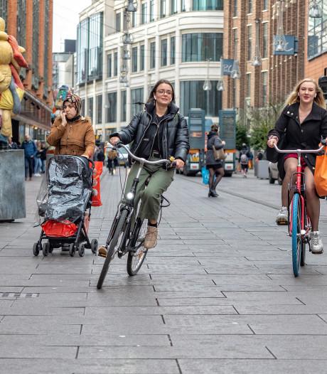 Hagenaars begripvol over fietsverbod winkelgebied: 'Ik denk steeds: wanneer rij ik iemand aan?'