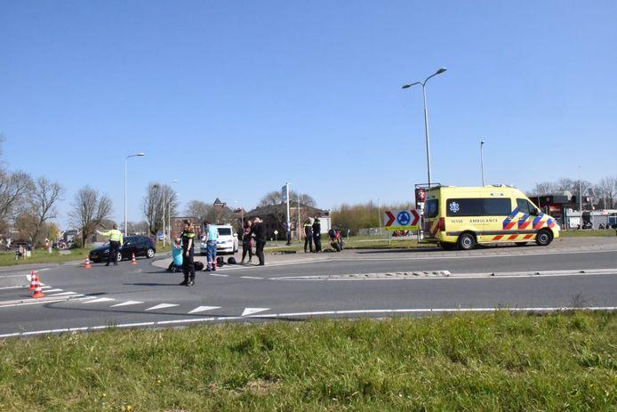 Motorongeluk in Bergambacht