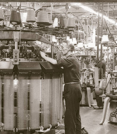 Allesomvattend boek over textiel Winterswijk door Arjan Ligtenbarg