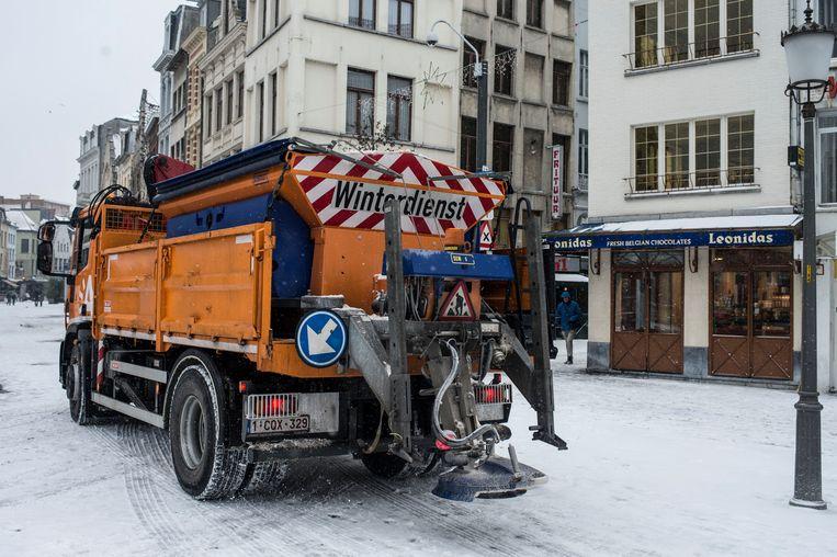 Sneeuw wordt er nog niet meteen verwacht in Antwerpen maar de strooidiensten staan sinds 1 november wel paraat