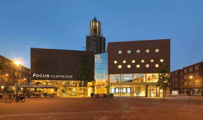 Focus Filmtheater Arnhem aan het Audrey Hepburnplein. Ontwerp: DP6 architectuurstudio, opdrachtgever: gemeente Arnhem.