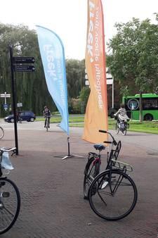 Eenzame fietsen na Alphense jaarmarkt