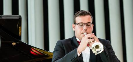 Trompettist Christian Jongepier in finale Prinses Christina Concours