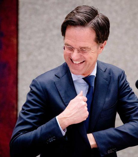 Peiling: Ruttes corona-aanpak zorgt voor stevige positie VVD