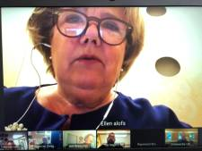 Eerste politieke video-vergadering Uden: 'Hallo, hallo, horen jullie mij?'