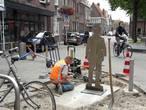 St. Annaplein: silhouet 13-jarige Van Gogh staat aan 'zijn pleintje'