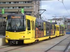 Geen tramverkeer mogelijk door wisselstoring