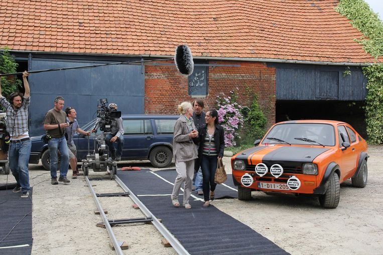 Een archiefbeeld van de opnames voor het eerste seizoen.