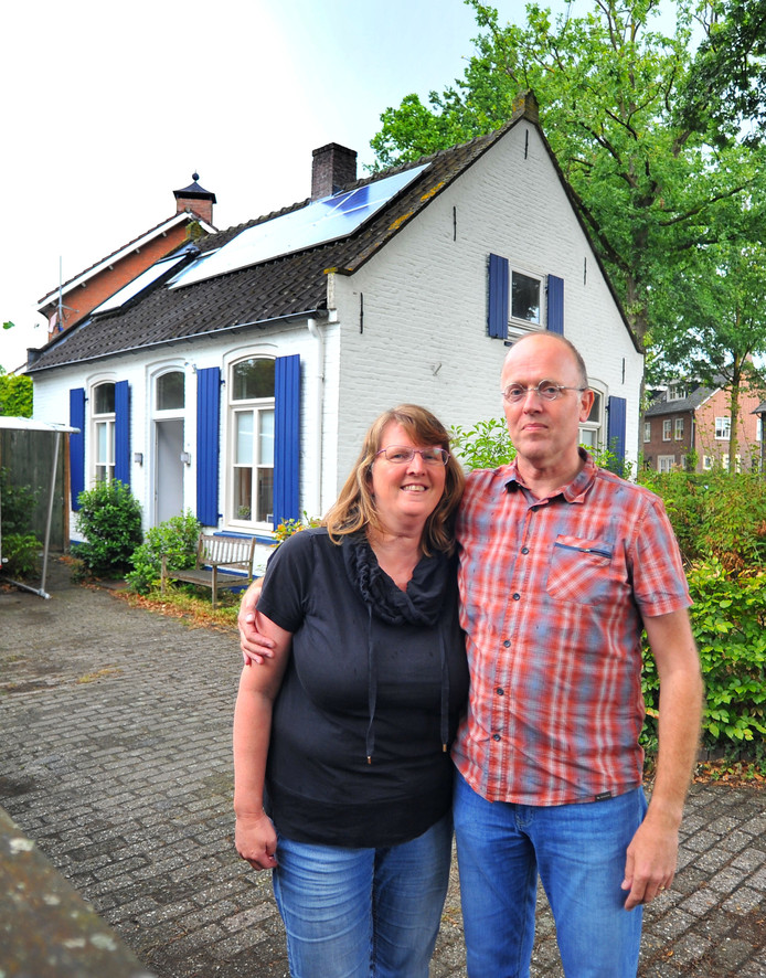 Heleen en Noud Heuvelmans  waren initiatiefnemers van project Tiny Houses in Son.