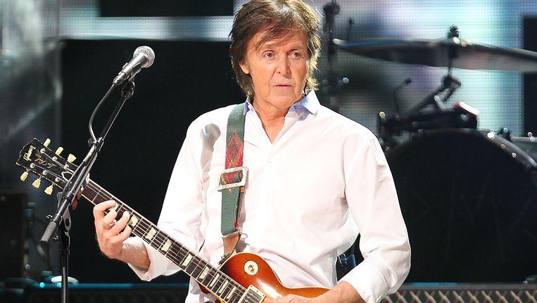 Paul McCartney. Beeld ap
