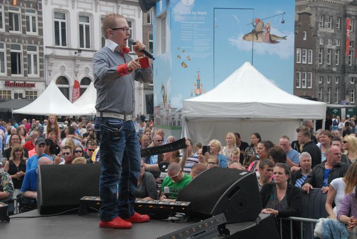 Joey Kerkhof: volgens velen een grappig ventje met veel potentie op muzikaal gebied.