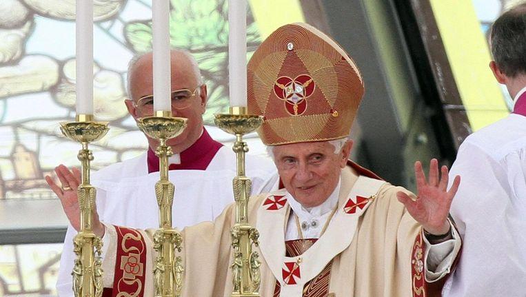 Paus Benedictus XVI Beeld epa