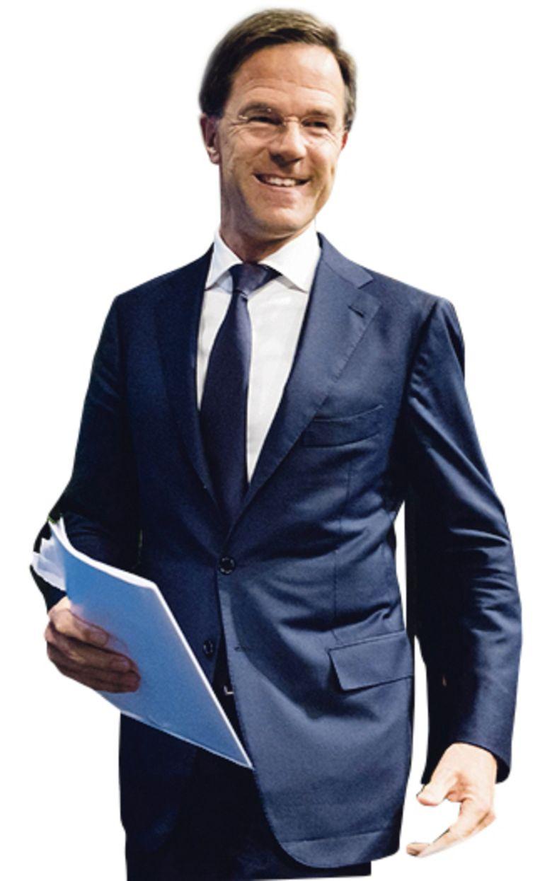 Mark Rutte begon tien jaar geleden zijn premierschap met op te scheppen over de departementale torens die hij leeg zou maken. Beeld ANP/ Bart Maat