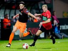 De kritiek op NEC-middenvelder Mart Dijkstra is verstomd