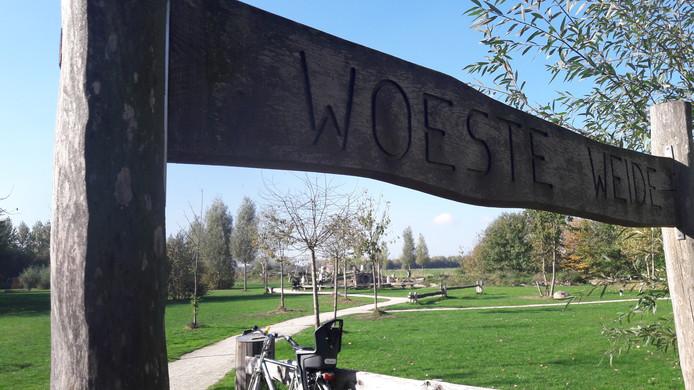 De Woeste Weide in Schijndel werd in 2014 geopend. Meierijstad gaat de natuurspeelplek in fases opknappen.