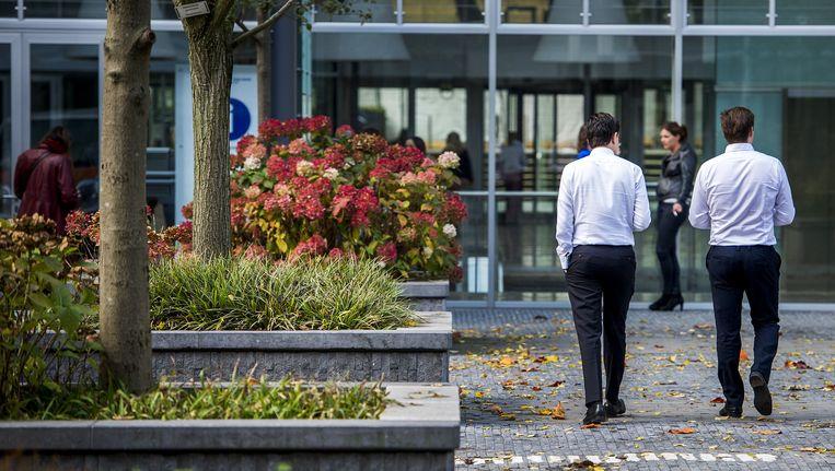 Na jaren kwakkelen voorziet ING in 2015 liefst vijf procent groei voor de zakelijke dienstverlening Beeld anp
