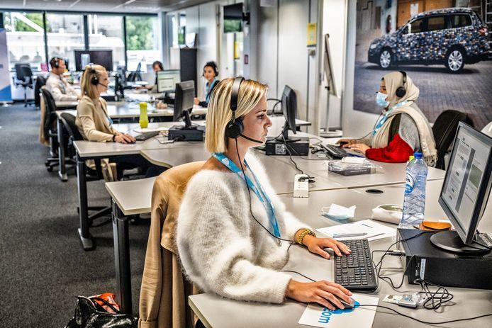De Vlaamse overheid doet voortaan ook aan brontracing in hun callcenters.