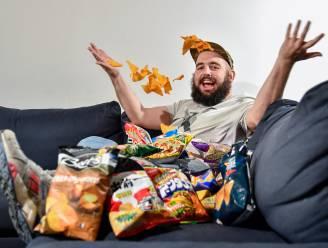 """Vettig eten, fun en vooral niet te veel nadenken: op bezoek bij Jonas Van Boxtael (35) alias Bockie De Repper """"Voor 1 minuut video zijn we al snel 8 uur bezig"""""""