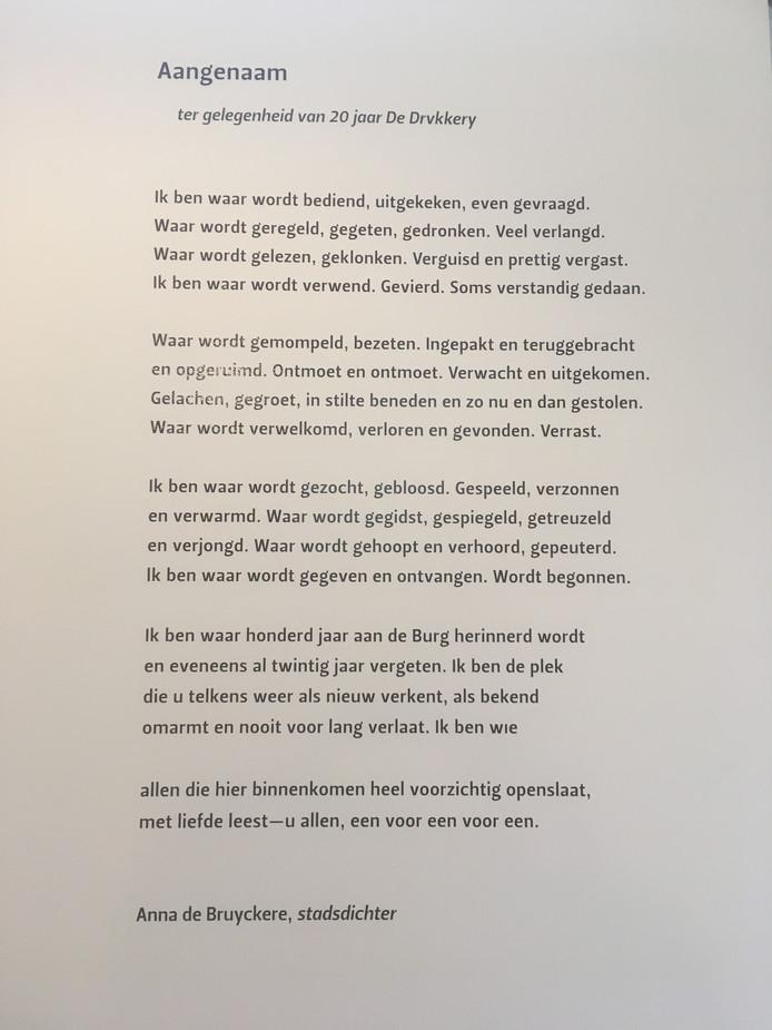 Ophef Over Dichtregel In Boekhandel Middelburg Dit Is