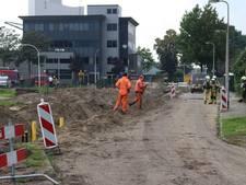 Gaslek na werkzaamheden aan riool in Hengelo