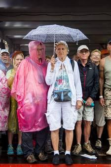 Dag 3: Regen extra hindernis voor vierdaagselopers