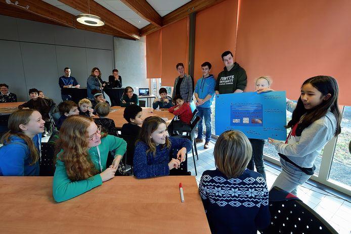 In het MEC krijgen kinderen van 4 tot en met 18 jaar les over zaken als natuur, milieu en afval.