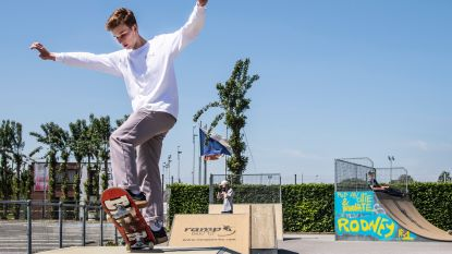 Skatepark elke woensdag en zaterdag open, parcours marktdag wordt uitgebreid