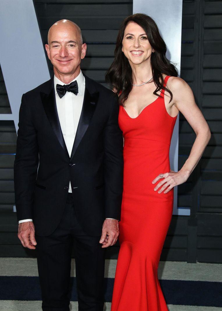 Jeff Bezos en zijn vrouw MacKenzie
