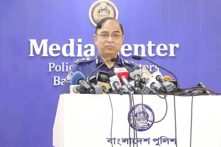 Chef van de nationale politie, Javed Patwary.