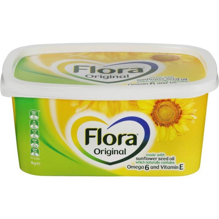 Margarine verpakking. Beeld Gabriel Eisenmeier