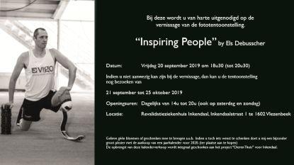 Fototentoonstelling Inspiring People presenteert reeks aangrijpende portretten in Inkendaal