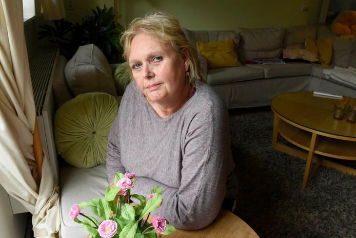 SP-Lid Wilma de Mooij kreeg in duw in de raadszaal Woerden.