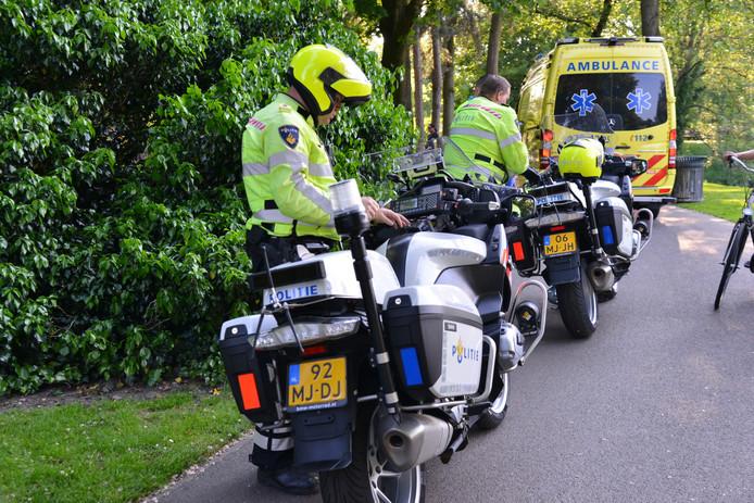 Een meisje is aangereden door een scooterrijder in het Park Valkenberg, hij is weggereden.