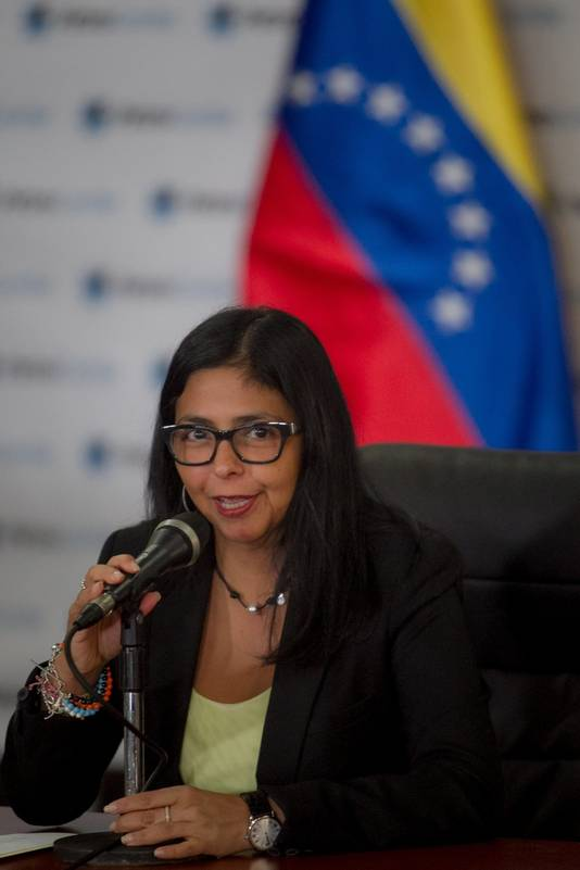 Delcy Rodriguez, ministre vénézuélienne des Affaires étrangères