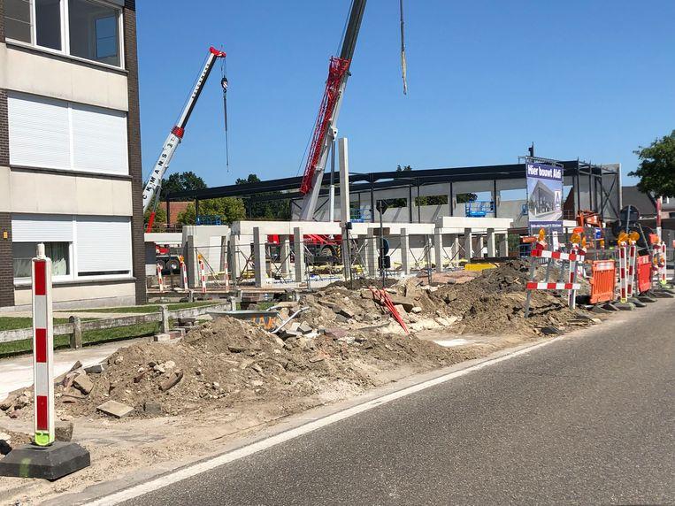 Fluvius legt nieuwe gas- en elektriciteitsleidingen aan in Oud-Turnhout.