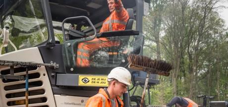 Wegenbouwers klaren huzarenstukje: de nieuwe Twenteroute gaat open