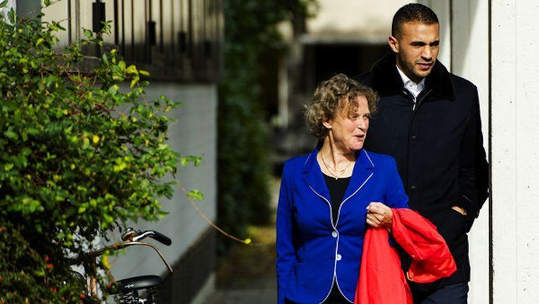 Hari en zijn advocate Benedicte Ficq eerder deze week Beeld anp