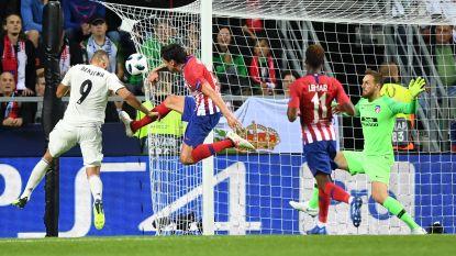 LIVE. Benzema kopt raak op voorzet Bale na snelste goal ooit van Diego Costa in Europese Supercup (1-1)