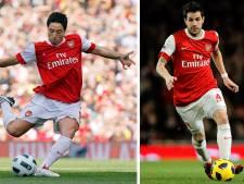 """Le coup de gueule de Fabregas: """"Seuls Nasri et Van Persie étaient au niveau à Arsenal"""""""