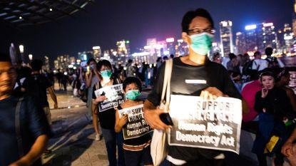 Spanningen in Hongkong lopen weer op bij nieuw anitregeringsprotest